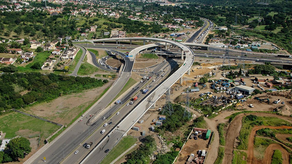 Upgrade on South Africa's major highway, implies shorter travel times between Durban and Joburg.