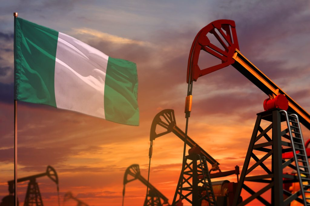 Nigeria's crude oil and condensate production averaged 1.62 million barrels per day in the first four months of 2021.