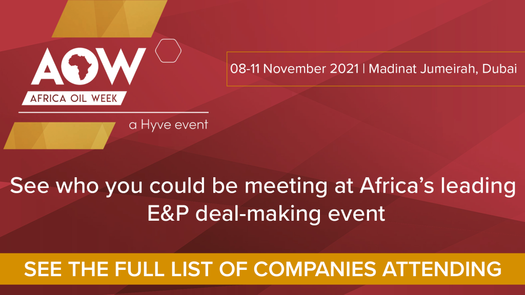 Africa Energy and Infrastructure Magazine, Partners Leading E & P Event, Africa Oil Week in Dubai.